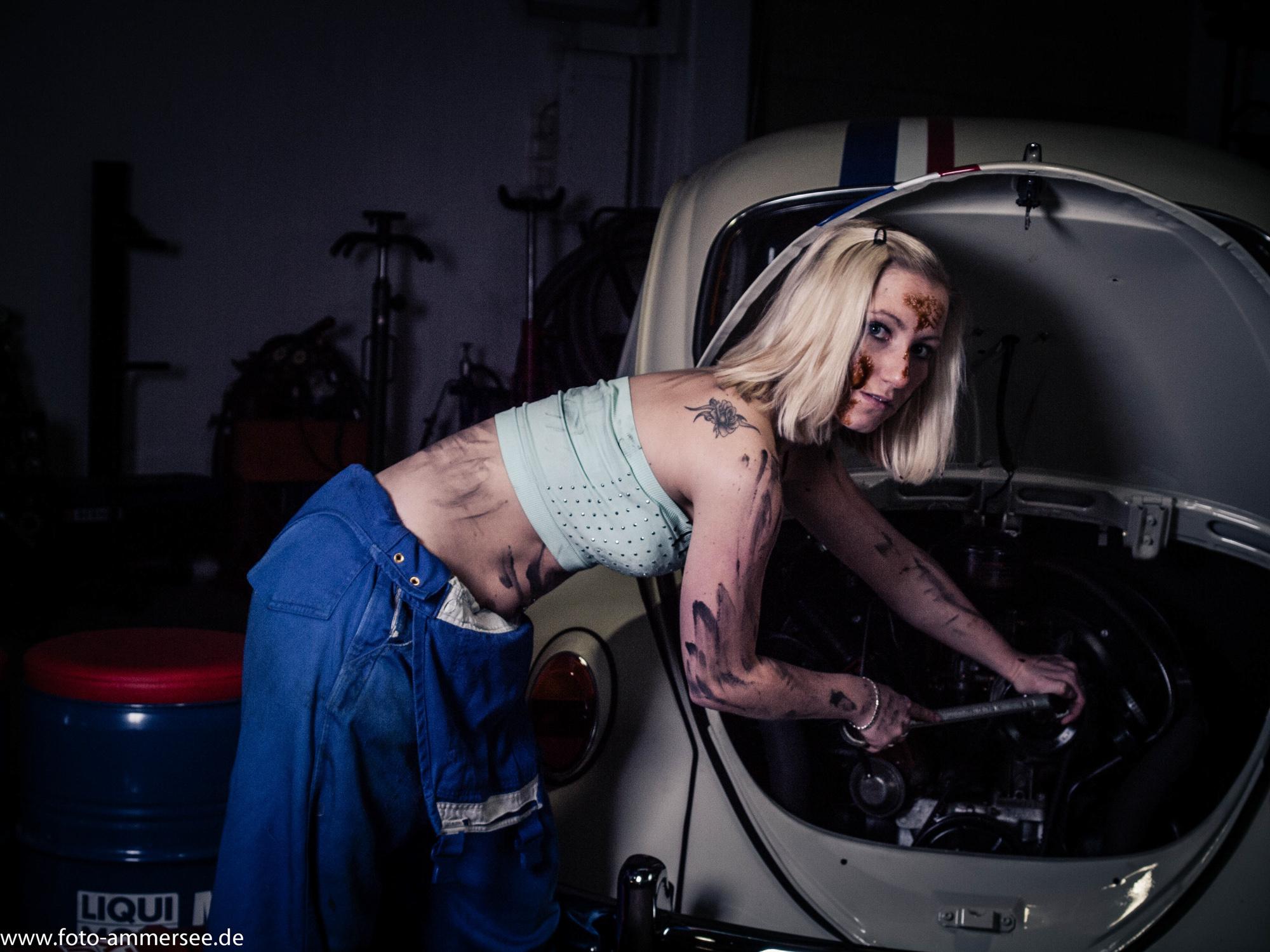 Werkstattshooting mit Herbie