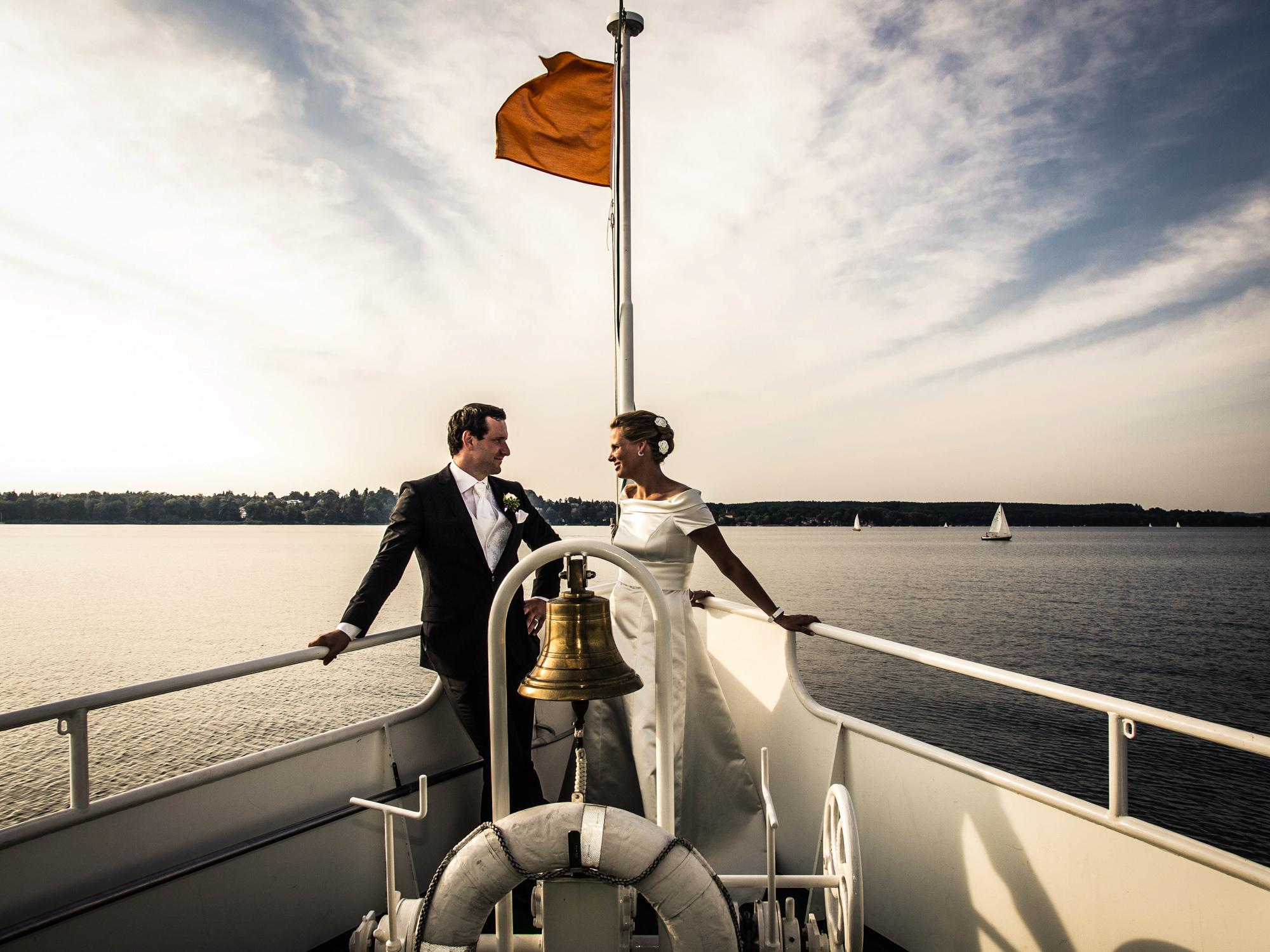 Nächster Halt: Hafen der Ehe